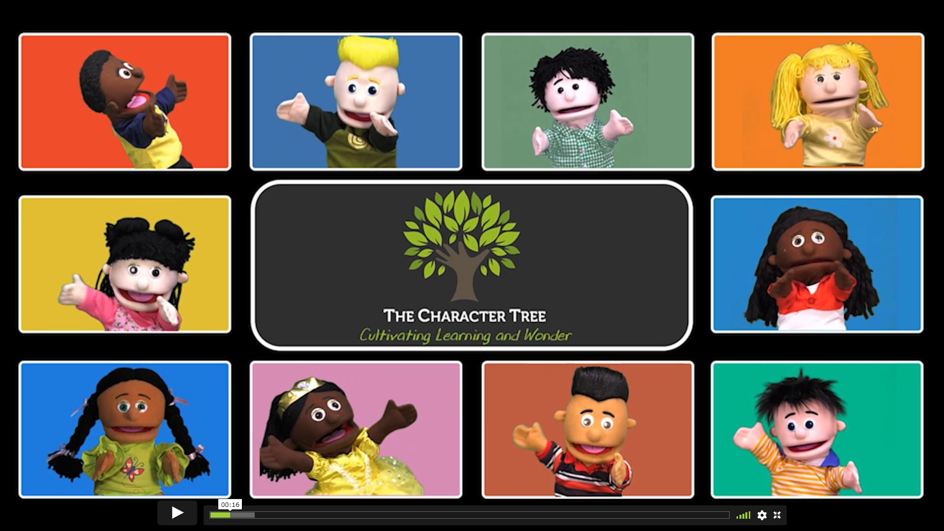 Free Thanksgiving Video Lessons from The Character Tree
