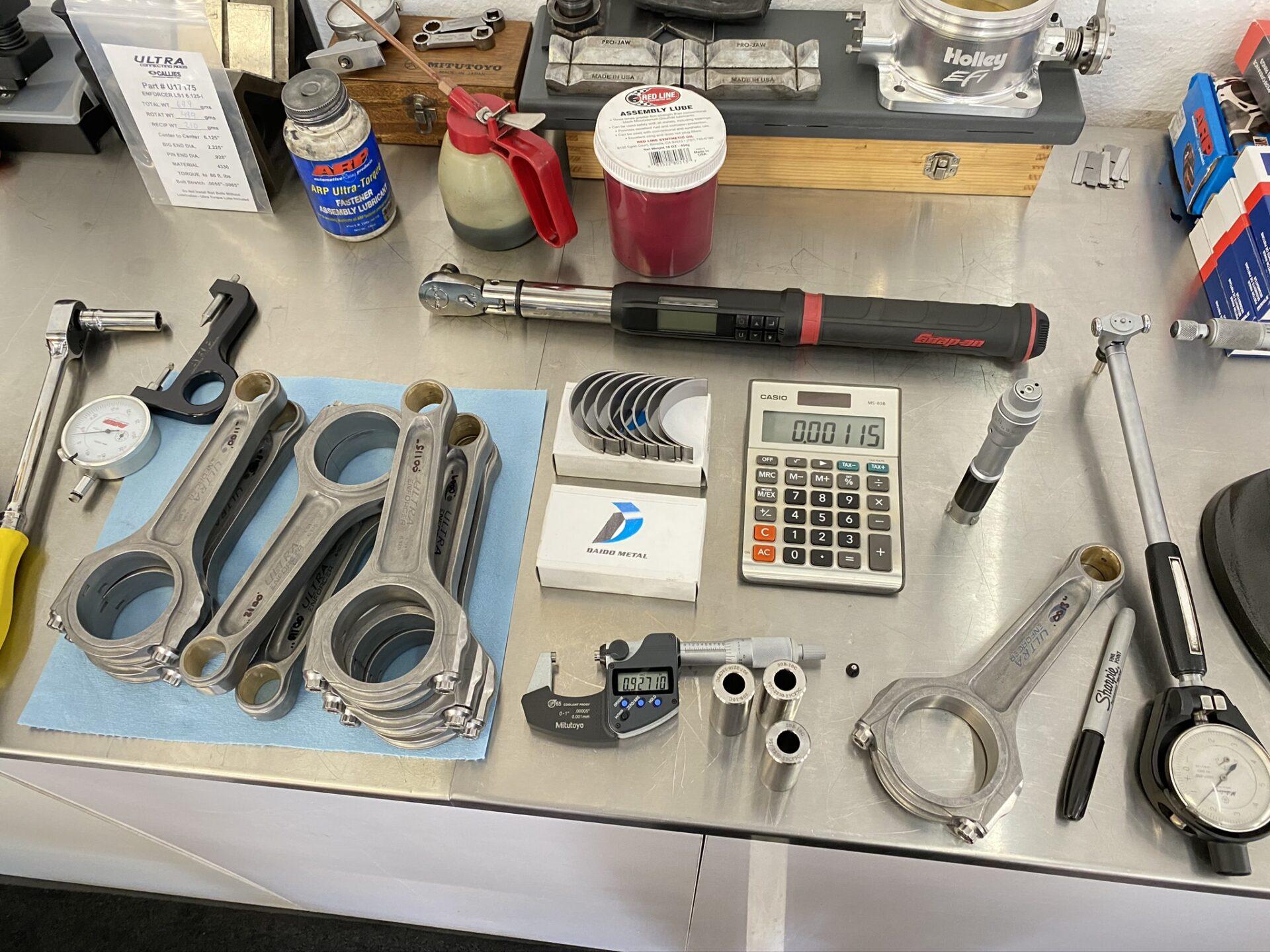 ACE Racing Engines LS engine builder callies ultra H beam