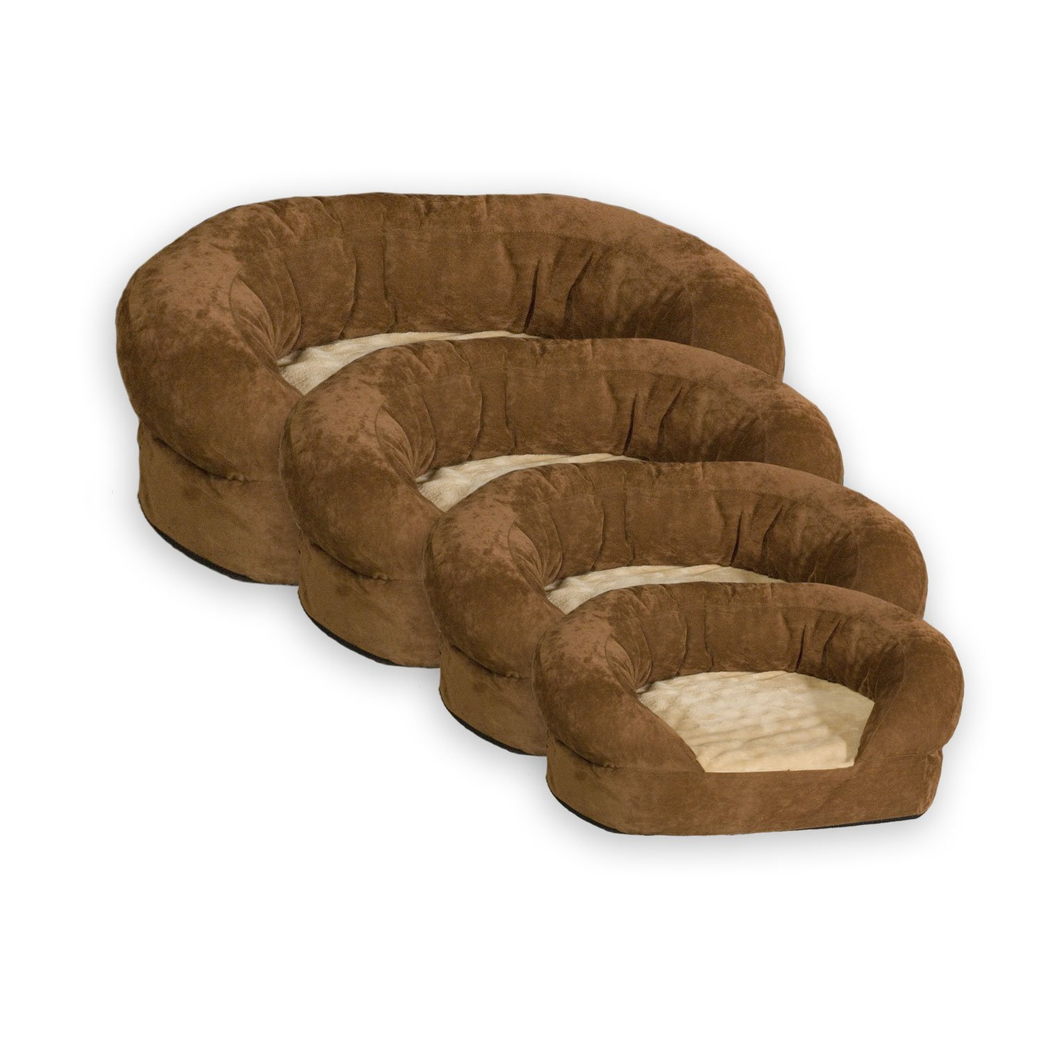 leather pet sofa sectional 4 trendiest extra large dog beds on the market