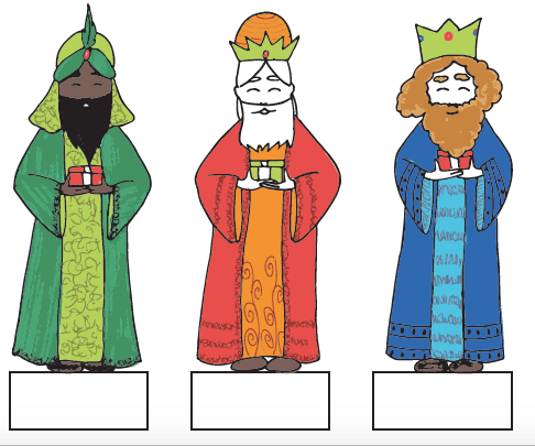 Les Rois mages de la Crèche