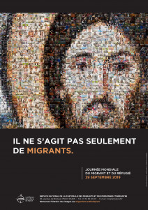 Affiche Journée mondiale du Migrant et du réfugié 2019