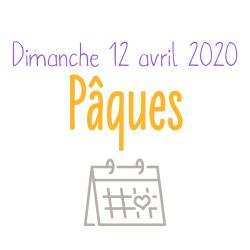 Dimanche de Pâques - CAREME 2020