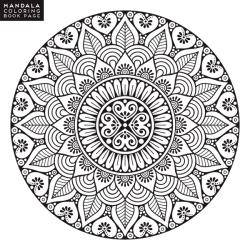 Coloriage Mandala inspirant