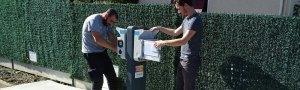 Installation borne recharge vehicule electrique Pau 64