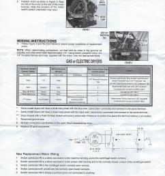 maytag dryer motor replacement w10410999 y303836 y312959 maytag dryer motor wiring harness maytag dryer motor replacement [ 1700 x 2200 Pixel ]