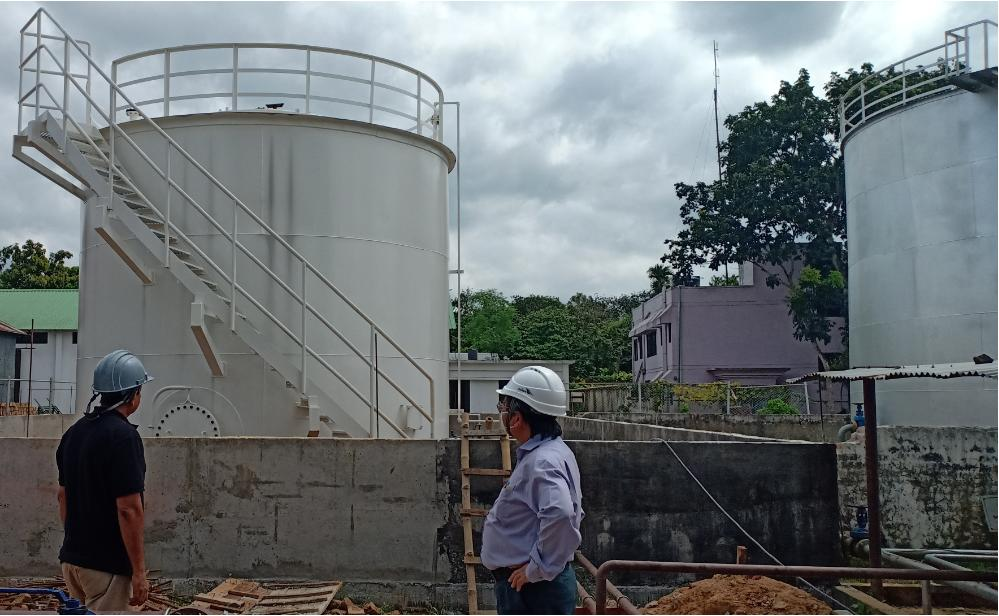 Condensate Delivery Tanks fabricated at Narsingdi