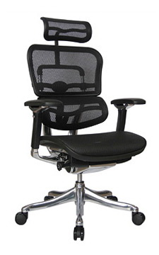 office depot mesh chair jazzy mobility ergohuman v2 high back with black frame and