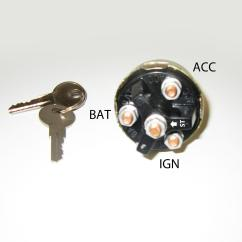 Universal Ignition Rj45 Female Connector Wiring Diagram Switch With Keys Starter Ebay