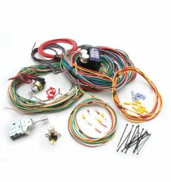 universal 1964 1965 1966 ford mustang fairlane wiring harness wire kit [ 900 x 900 Pixel ]
