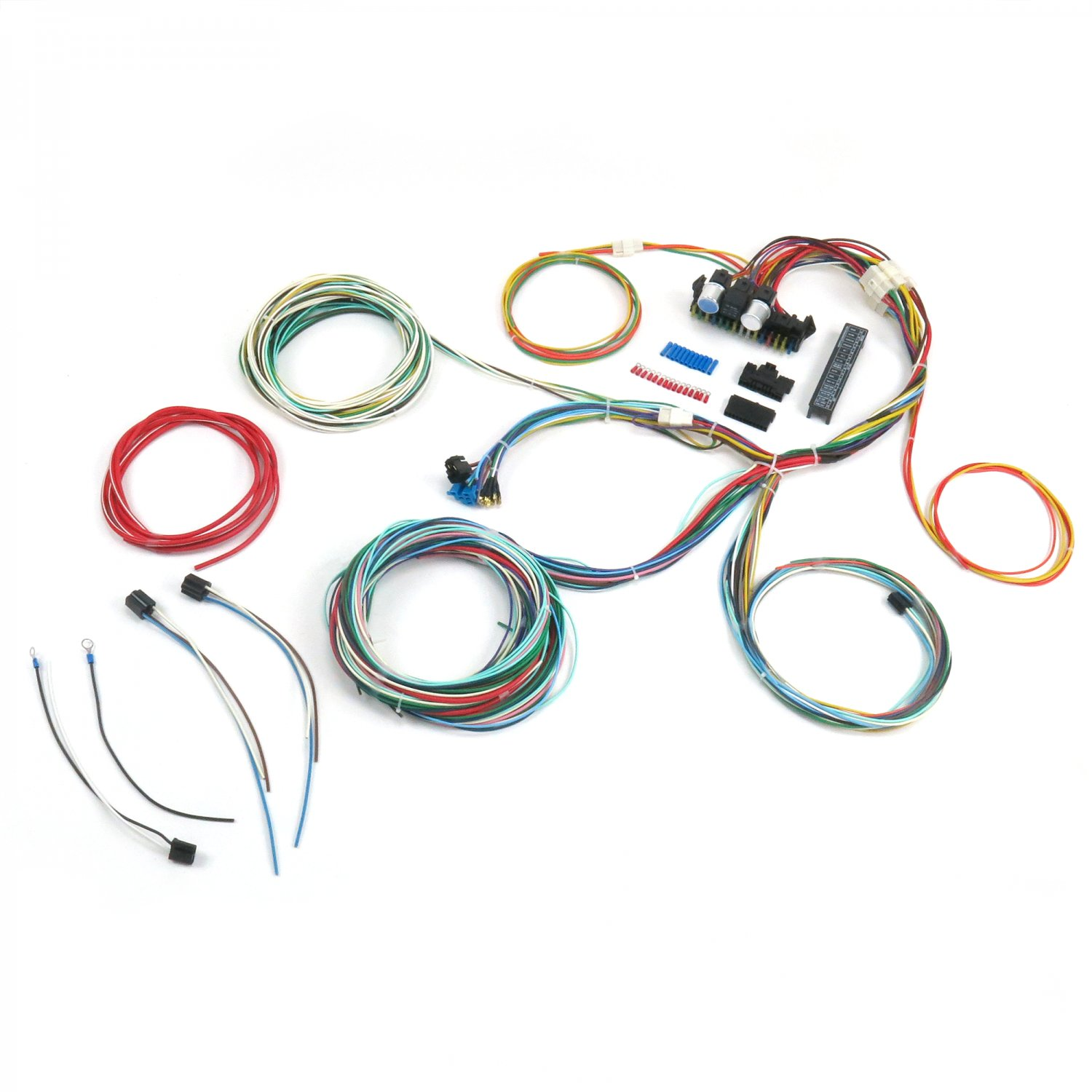 hight resolution of details about ultimate 15 fuse 12v conversion wiring harness 40 1940 ford pickup rod