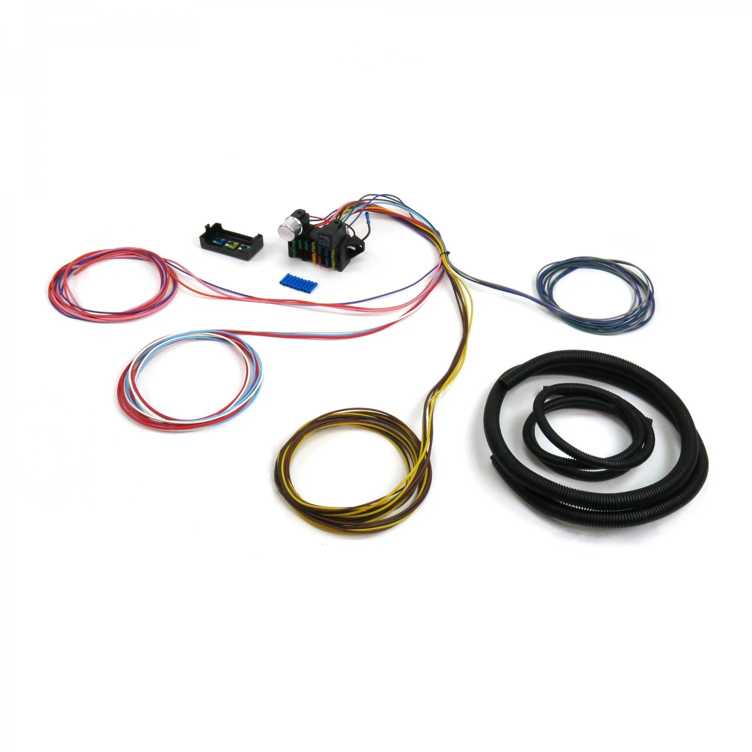 hight resolution of wire harness fuse block upgrade kit for 52 79 mg austin stranded insulation pvc
