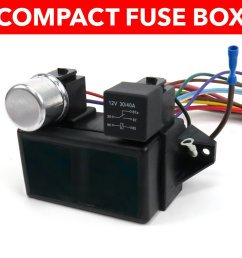 1964 1967 chevrolet chevelle wire harness fuse block upgrade kit [ 960 x 960 Pixel ]