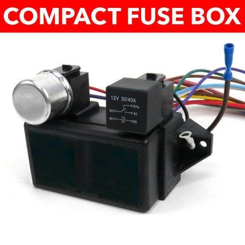 small resolution of 1964 1967 chevrolet chevelle wire harness fuse block upgrade kit