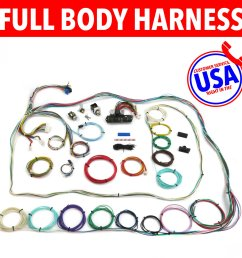 67 72 chevrolet c10 c15 rear coil truck wire harness upgrade kit fits painless [ 1500 x 1500 Pixel ]