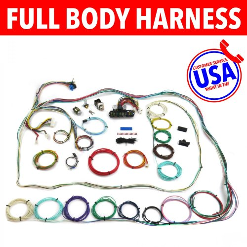 small resolution of 67 72 chevrolet c10 c15 rear coil truck wire harness upgrade kit fits painless