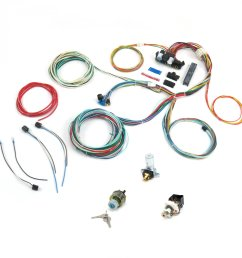 universal 1964 1965 1966 ford mustang fairlane wiring harness wire kit [ 1500 x 1500 Pixel ]