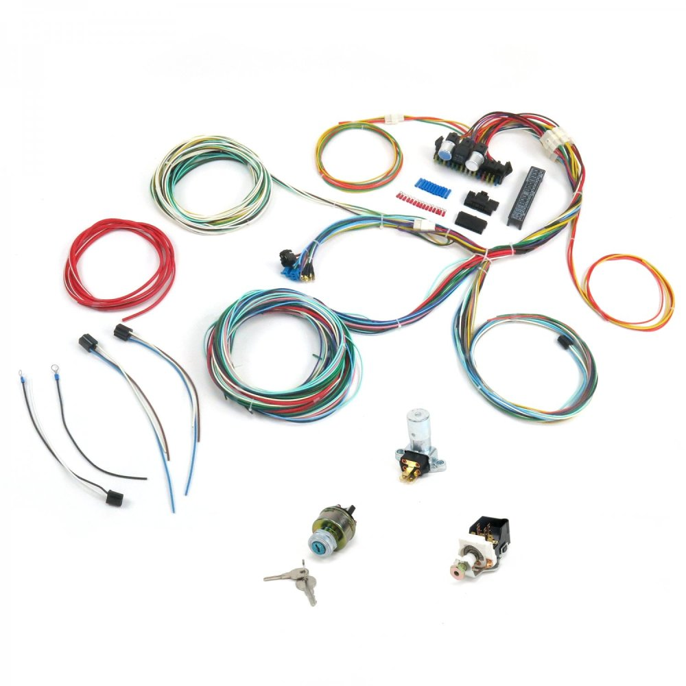 medium resolution of universal 1964 1965 1966 ford mustang fairlane wiring harness wire kit