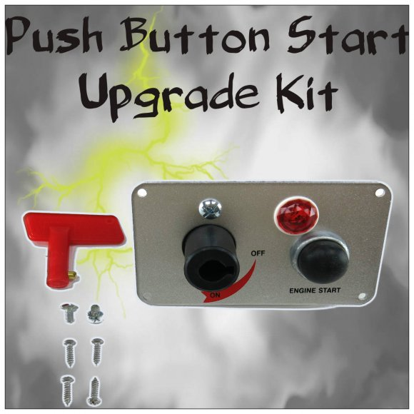 Chevrolet Push Button Start Kit Ignition Engine Switch Ebay