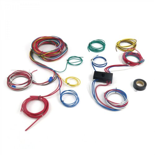 small resolution of dune buggy universal wiring harness w fuse box fits empi 9466 vw dune buggy ignition switch wiring rail buggy wiring harness