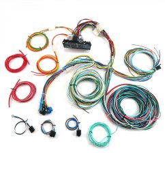 1950 1954 chevy car complete modern update re wiring harness 12v conversion [ 1500 x 1500 Pixel ]