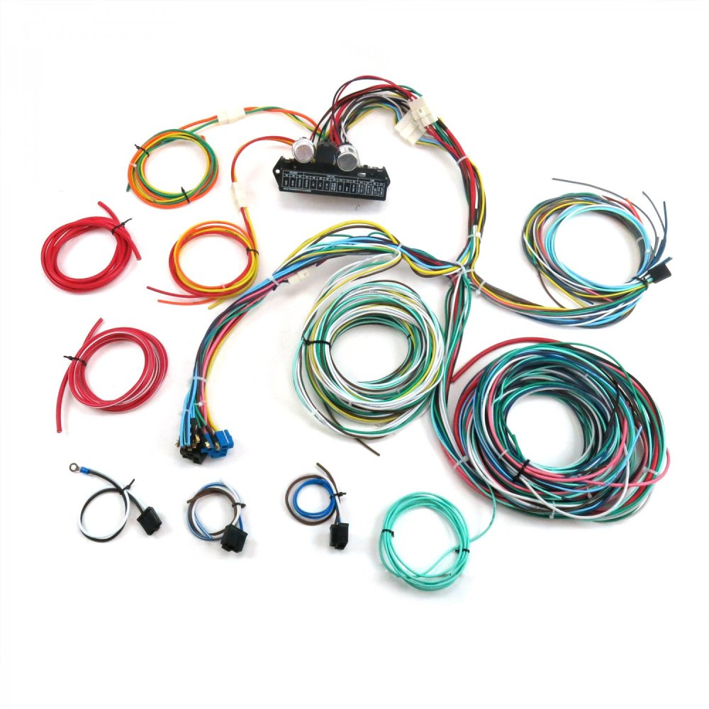 medium resolution of 1950 1954 chevy car complete modern update re wiring harness 12v conversion