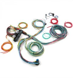 auto wire harness re wiring kit for any 67 72 chevy truck 12v american standard [ 1500 x 1500 Pixel ]