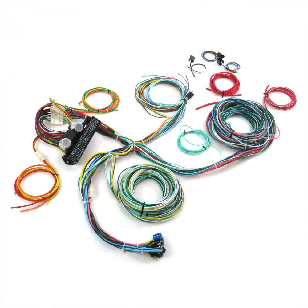 medium resolution of auto wire harness re wiring kit for any 67 72 chevy truck 12v american standard