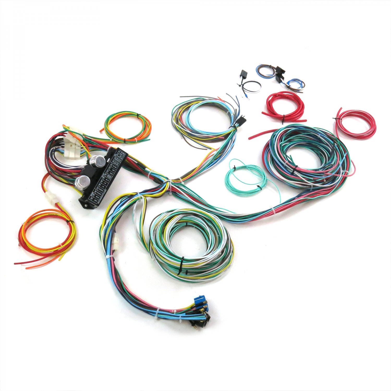 hight resolution of auto wire harness re wiring kit for any 67 72 chevy truck 12v american standard