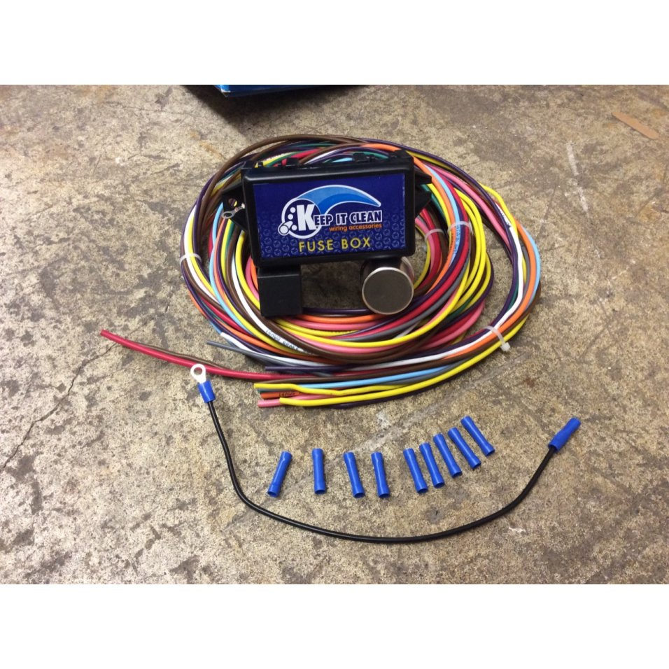 hight resolution of image is loading 18 circuit universal wire harness drag race street
