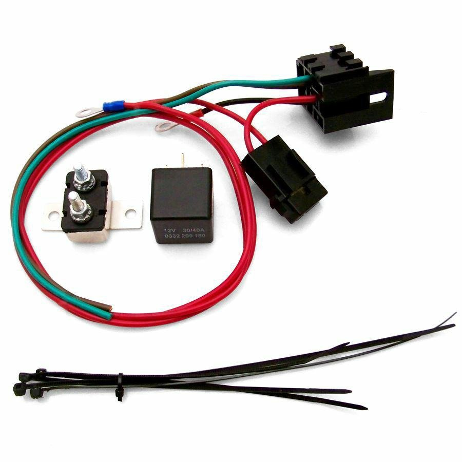 hight resolution of details about universal fuel pump relay kit keep it clean kicharnfp street hot rod muscle