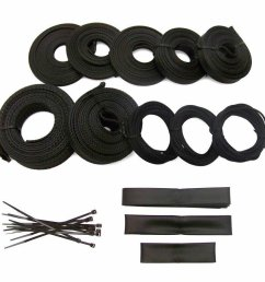 ultra power braided wrap wire harness loom kit for amc 127ft ebay hyundai wiring harness amc wiring harness straps [ 900 x 900 Pixel ]