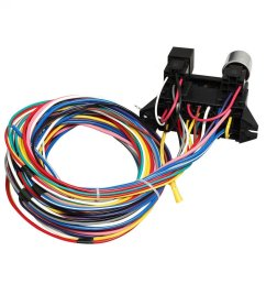 new 12 circuit wire harness muscle car hot rod street rod xl wires ez wiring 12 [ 1500 x 1500 Pixel ]