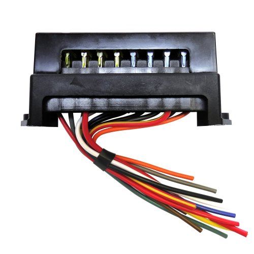 small resolution of 10 atc fuse block with cover fuse 10 fuses material plastic cover included style atc terminals plated testing terminal built in wire
