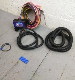 12 fuse universal wiring harness kit 1956 ford 1955 ford ebay 12 fuse universal wiring harness kit 1956 ford 1955 ford ebay [ 1500 x 1500 Pixel ]