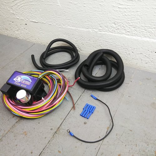 small resolution of details about wire harness fuse block upgrade kit for early studebaker stranded insulation
