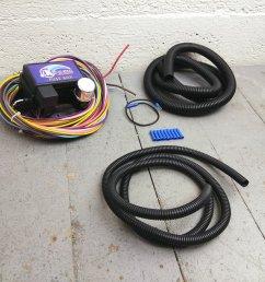 12v 18 circuit 12 fuse universal wiring harness kit 1952 buick 1938 pontiac bar product description c [ 1500 x 1500 Pixel ]
