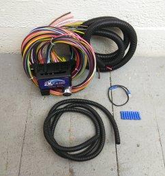 12v 18 circuit 12 fuse universal wiring harness kit 1957 chevrolet datsun 510 bar product description c [ 1500 x 1500 Pixel ]
