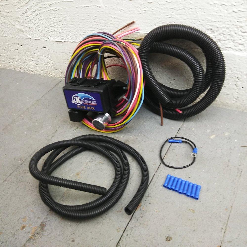 medium resolution of 1946 1954 international 30 frame wire harness fuse block upgrade kit rat rod