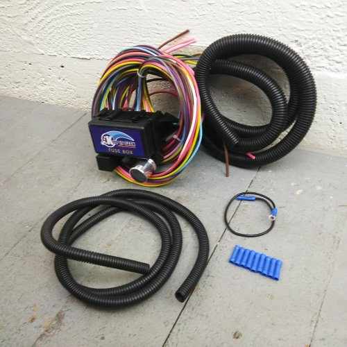 small resolution of 1946 1954 international 30 frame wire harness fuse block upgrade kit rat rod