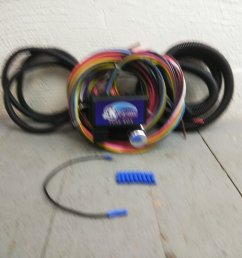 12v 18 circuit 12 fuse universal wiring harness kit 1952 oldsmobile rat rod bar product description c [ 1500 x 1500 Pixel ]