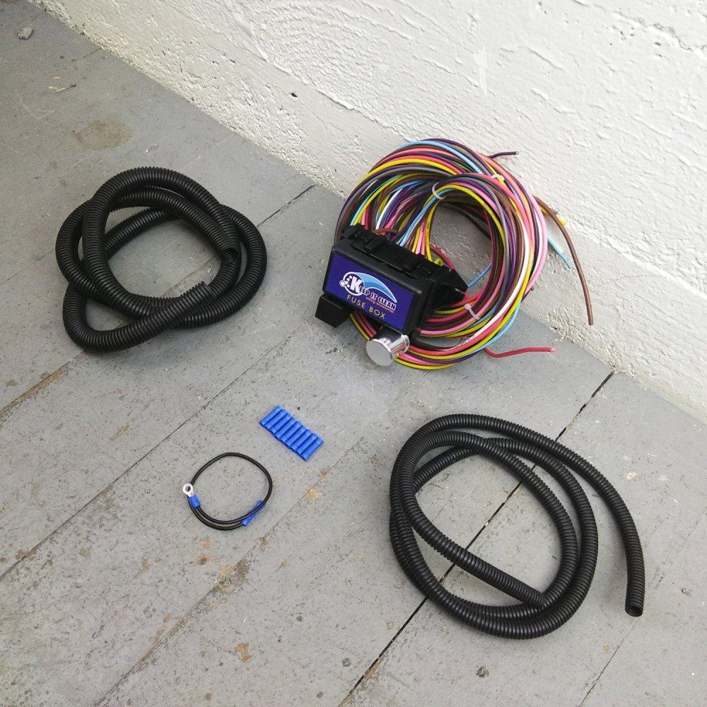 medium resolution of 1967 1972 chevy truck wire harness fuse block upgrade kit hot rod street rod auto performance