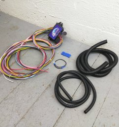 12v 18 circuit 12 fuse universal wiring harness kit 1934 ford 1949 mercury bar product description c [ 1500 x 1500 Pixel ]