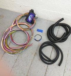 12v 18 circuit 12 fuse universal wiring harness kit 1940 plymouth 12 fuse universal wiring harness kit 1956 ford 1955 ford ebay [ 1500 x 1500 Pixel ]