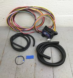 12v 18 circuit 12 fuse universal wiring harness kit 1936 chevrolet jeep project bar product description c [ 1500 x 1500 Pixel ]