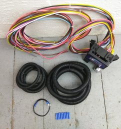 1948 1956 f1 or f100 ford truck ultra pro wire harness system 12 fuse bar product description c [ 1500 x 1500 Pixel ]
