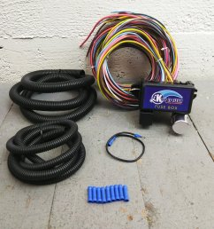 1950 1988 jaguar ultra pro wire harness system 12 fuse w fuse long replace bar product description c [ 1500 x 1500 Pixel ]