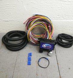 1962 1974 mopar b e body wire harness fuse block upgrade kit rat rod review bar product description c [ 1500 x 1500 Pixel ]