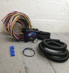 wire harness fuse block upgrade kit for 1994 1999 cadillac street rod hot bar product description c [ 1500 x 1500 Pixel ]