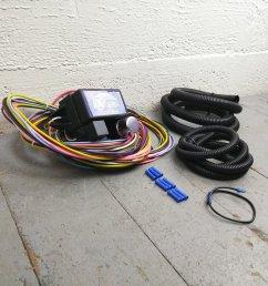 1974 1985 pontiac ultra pro wire harness system 12 fuse restore 1985 pontiac fuse box [ 1500 x 1500 Pixel ]