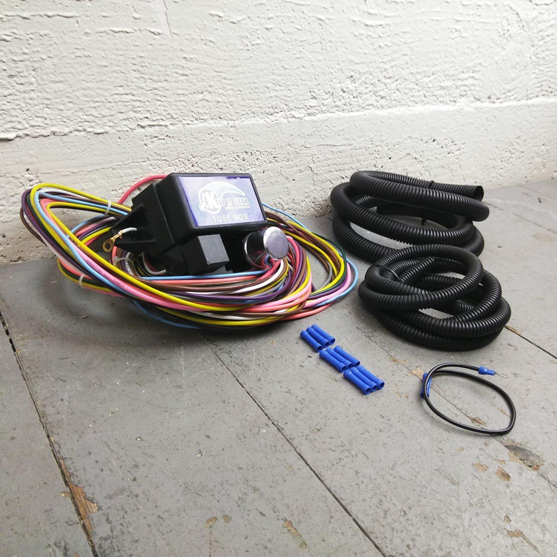 hight resolution of 1974 1985 pontiac ultra pro wire harness system 12 fuse restore 1985 pontiac fuse box